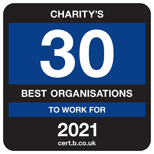 Top 30 charities to work for