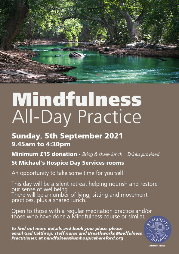 Mindfulness Practice Day Sept