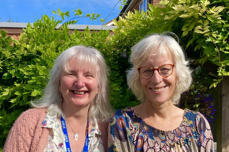 Gail and Vidyamala new